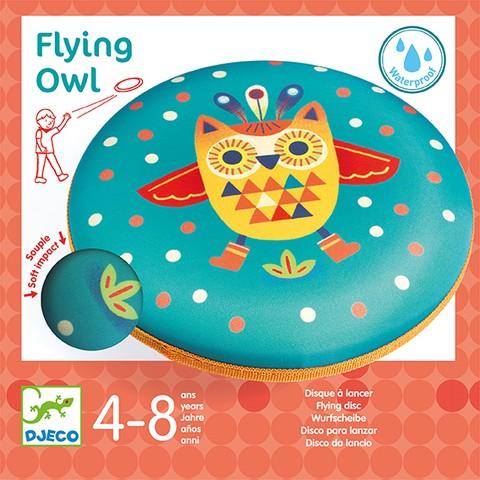 Disc frisbee Djeco zborul bufnitei imagine