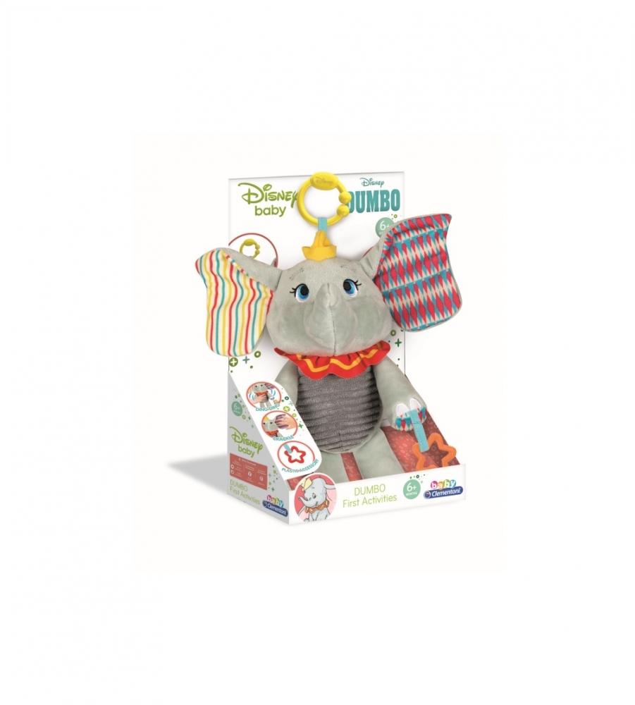 Jucarie de plus elefantul Dumbo cu activitati