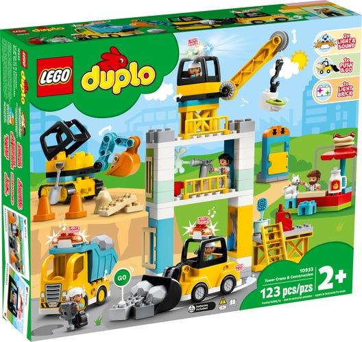 Macara si constructie Lego Duplo