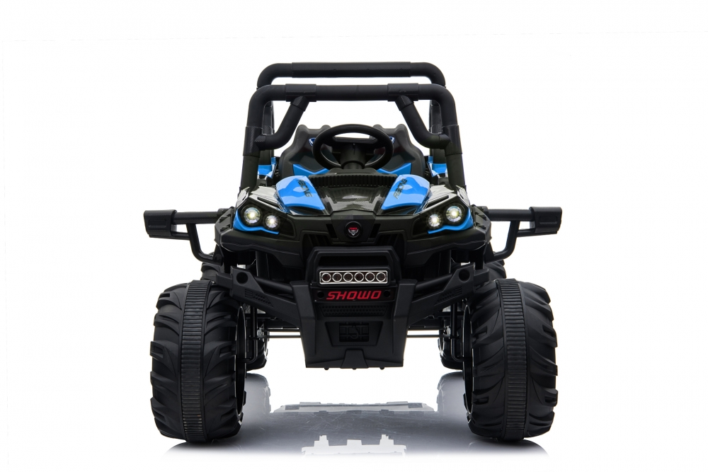 Masinuta electrica de teren 12V Nichiduta Jeep UTV Racing Blue imagine