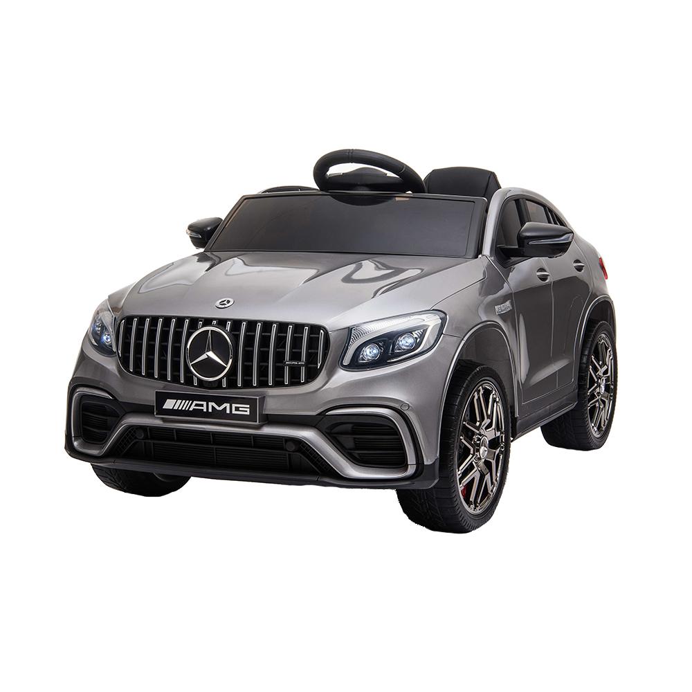 Masinuta electrica Mercedes Benz GLC 63 Silver Editie Limitata imagine