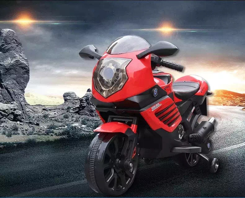 Motocicleta electrica 6V Nichiduta K1200 Red