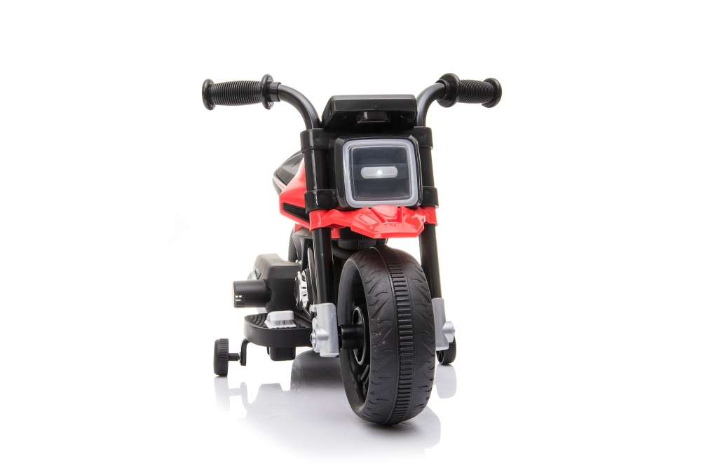 Motocicleta electrica Nichiduta 6V cu roti ajutatoare si lumini LED Red imagine