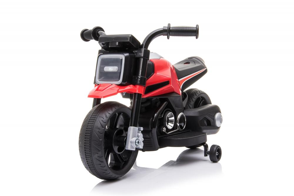 Motocicleta electrica 6V cu roti ajutatoare Red