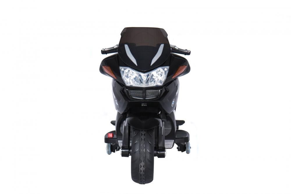Motocicleta electrica cu scaun de piele si roti EVA Nichiduta Speed Black - 1