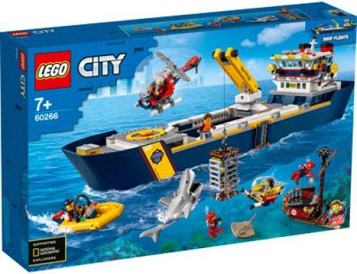 Nava de explorare a oceanului Lego