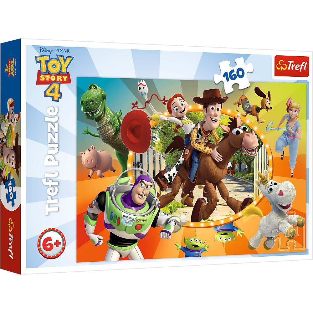 Puzzle Trefl Disney Toy Story In lumea jucariilor 160 piese