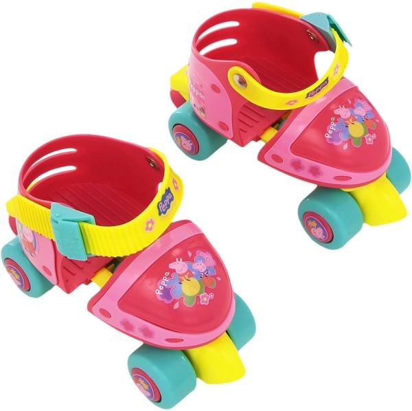 Patine cu rotile pentru fete Peppa Pig Saica 0893 marime reglabila 24-29