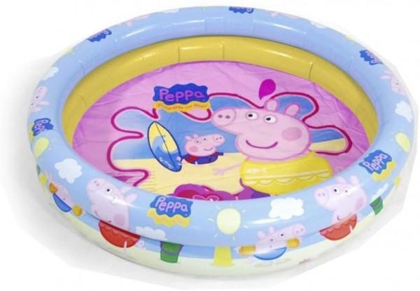 Piscina gonflabila Peppa Pig 90 cm Saica imagine