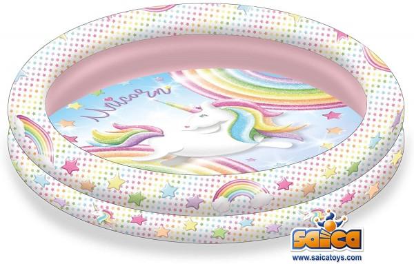 Piscina gonflabila Saica Unicorn 90 cm imagine