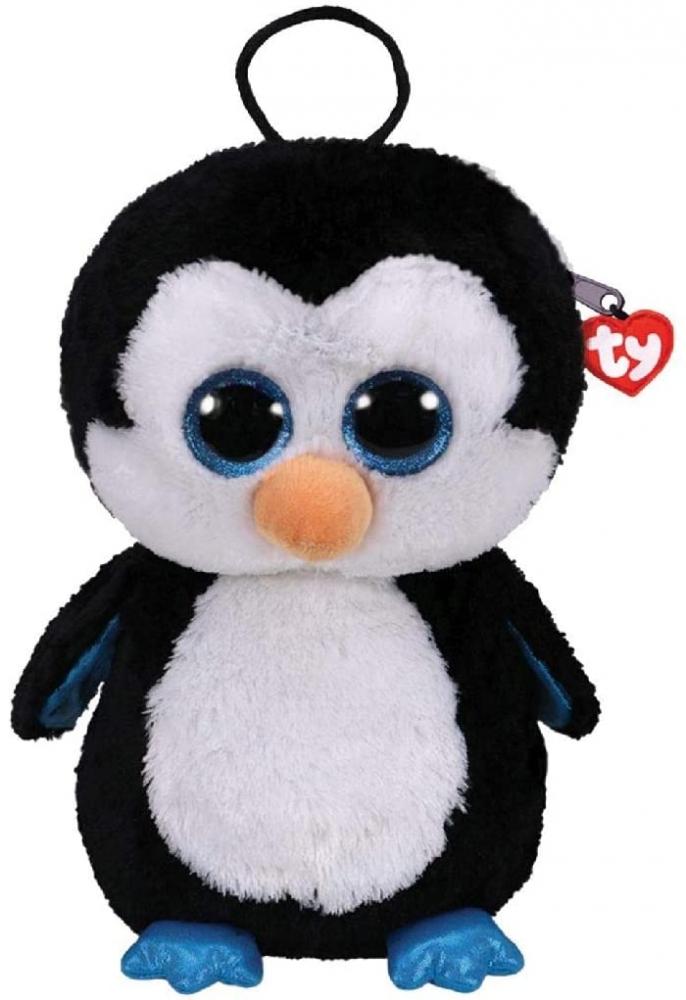 Rucsac de plus Pinguinul Waddles Ty