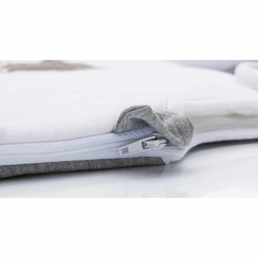 Sac de dormit de vara 70 cm Elephant grey Fillikid imagine