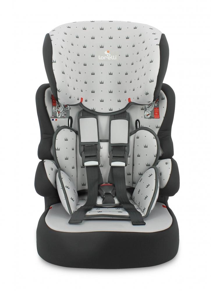 LORELLI Scaun auto X-Drive Plus 9-36 Kg Grey Crowns