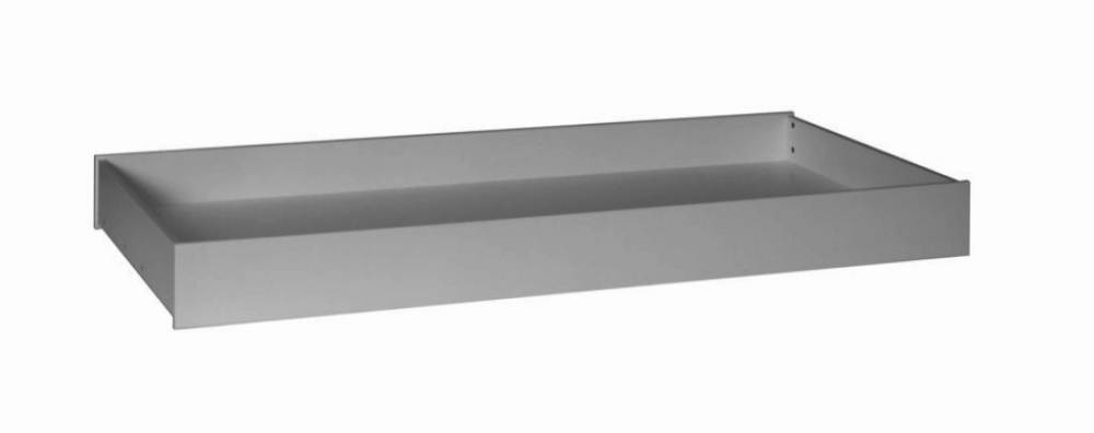 Sertar multifunctional pat 90x200 cm Pinio lemn de pin gri imagine