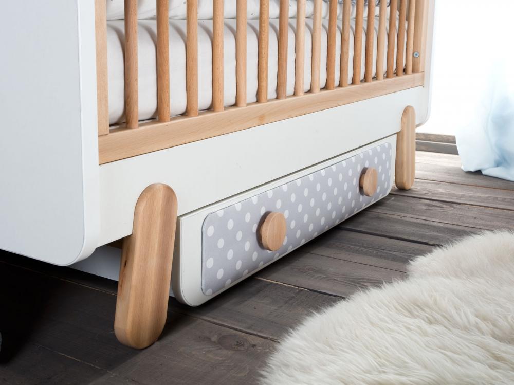 Sertar pentru pat bebe Iga 60x120 cm Pinio imagine