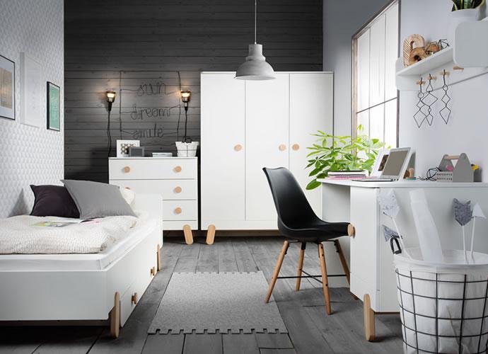 Sertar pentru pat clasic Iga 90x200 cm Pinio imagine
