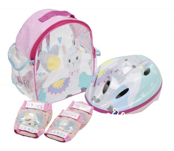 Set accesorii protectie pentru bicicleta role trotineta Saica 4601 Alpaca