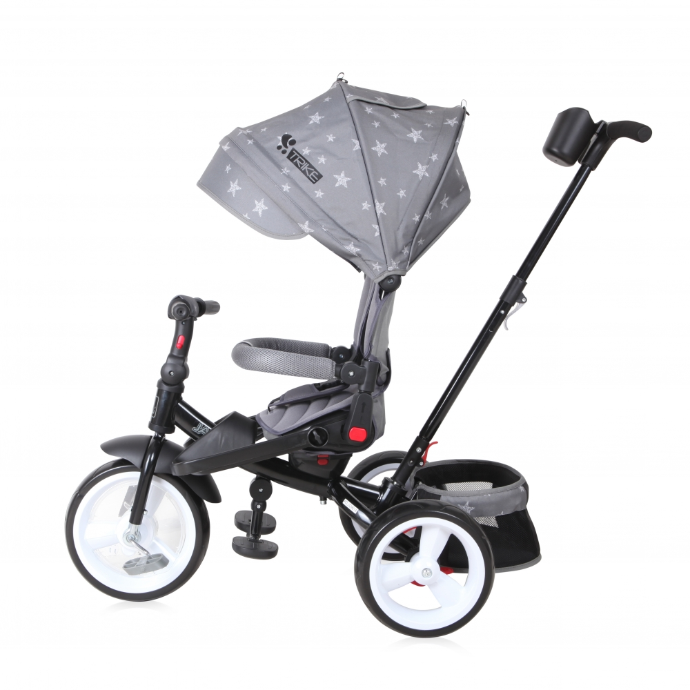 Tricicleta 4 in 1 Jaguar Eva Wheels Grey Stars