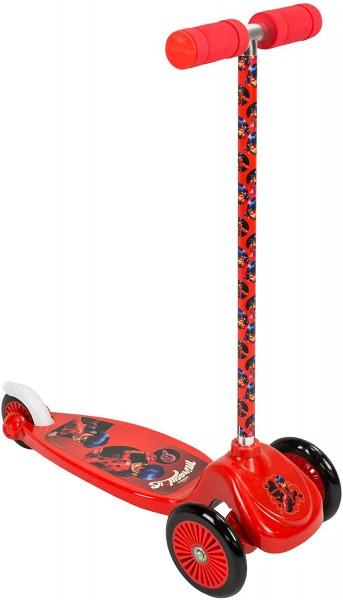 Trotineta copii 3 roti Micro Scooter Saica 5829 Ladybug Buburuza Miraculoasa