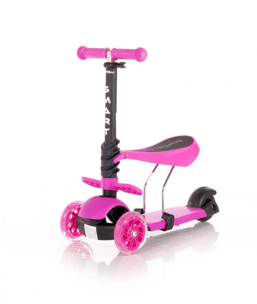 LORELLI Trotineta pentru copii Smart Pink