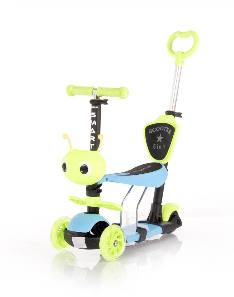 LORELLI Trotineta pentru copii Smart Plus Blue  Green