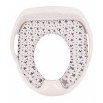 Adaptor toaleta cu pernuta Luxury Gri SeviBebe