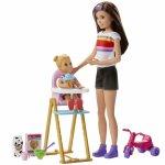 Papusa Barbie mamica si bebelus