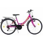 Bicicleta copii Kreativ 2414 violet 24 inch