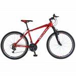 Bicicleta Mtb-Ht 26 Velors Double V2671A cadru aluminiu rosu/alb