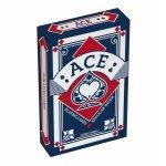 Carti de joc Ace albastru