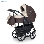 Carucior 3 in 1 Combo Max Dark Brown