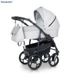 Carucior 3 in 1 Combo Max Light Grey