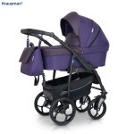 Carucior 3 in 1 Combo Max Purple