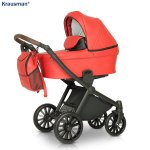Carucior 3 in 1 Rider Soft Red