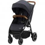 Carucior B-Agile 4 R Black Shadow Brown Britax