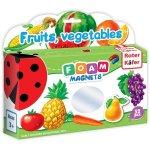 Joc educativ lumea in magneti fructe si legume Roter Kafer