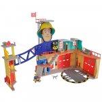 Jucarie Simba Statie de pompieri Fireman Sam XXL cu figurina si accesorii