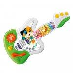 Jucarie muzicala educativa Chicco 44 Cats Chitara Lampo 1-4 ani
