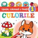 Carte Lipeste, coloreaza si invata culorile 1
