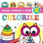 Carte Lipeste, coloreaza si invata culorile 2