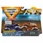 Set 2 masinute Monster Jam Mohawk Warrior si Jester color change