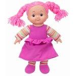 Papusa Soft Cheeky cu corp moale si hainute roz