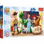 Puzzle Trefl 100 Eroii Toy Story 4