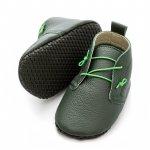 Pantofi cu talpa moale Liliputi cu crampoane antialunecare Urban Jungle S 11,3 cm