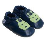 Pantofiori din piele Green Martians L 15 cm