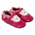 Pantofiori din piele Pink Kitty 2XL 17 cm