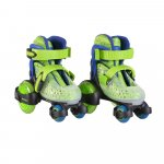 Patine cu rotile Little Beetle Green Boy XS 26-29