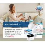 Pompa de san electrica + absorbante + cearceaf multifunctional GRATUIT Canpol