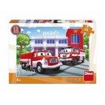 Puzzle masina de pompieri 24 piese
