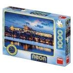 Puzzle Neon Castelul Praga 1000 piese